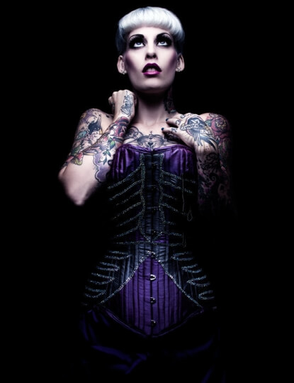 Ribcage corset by Cinched Tight