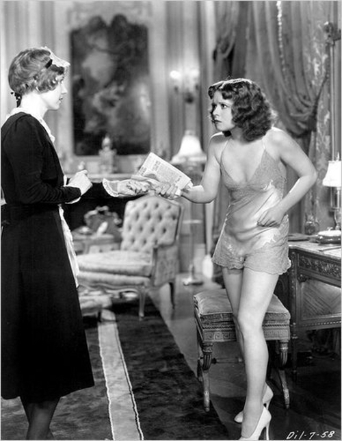 Clara Bow in Call Her Savage, 1932