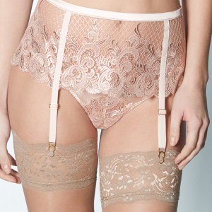 Sale Lingerie of the Week: Coco de Mer 'Althea' Suspender