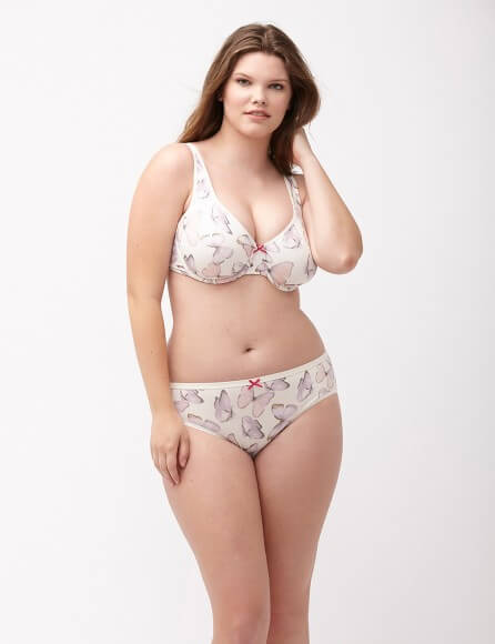 Cotton Full Coverage Bra by Lane Bryant  36C to 50DDD (US sizing)