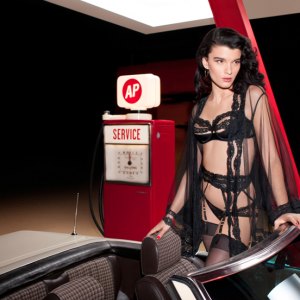 Agent Provocateur Spring/Summer 2013: Featuring Crystal Renn