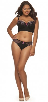 Carmen Set by Curvy Kate in Boysenberry