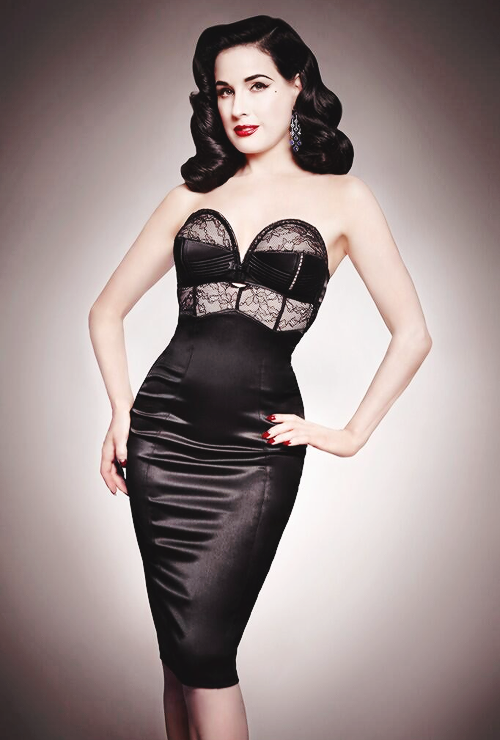 Dita von Teese 'Her Sexcellency' Dress