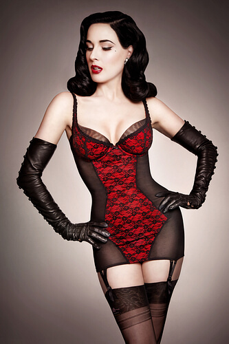 Dita Von Teese Lingerie Sheer Witchery