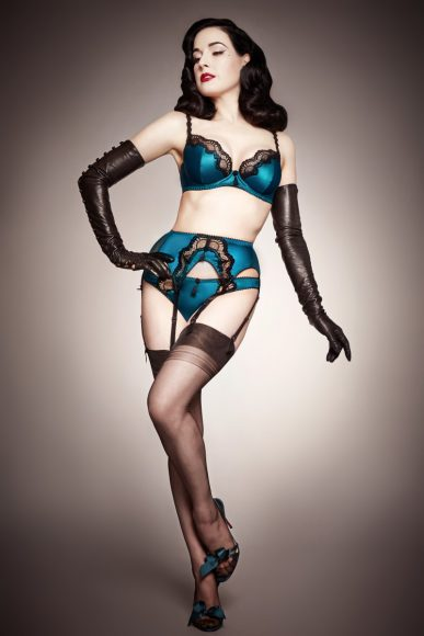 dita von teese lingerie spring summer 2014 the lingerie addict. Black Bedroom Furniture Sets. Home Design Ideas