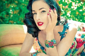 Dita von Teese by Star Foreman for LA Weekly