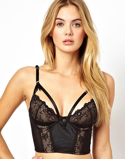 Madam X Longline Bra by Von Follies by Dita Von Teese - $131.73