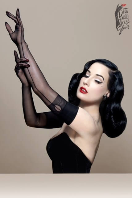 Dita Von Teese - The Femme Totale Gloves