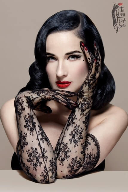 Dita Von Teese - The Flirteese Gloves