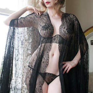 Lingerie of the Week: Dollhouse Bettie Lace Cocoon Robe
