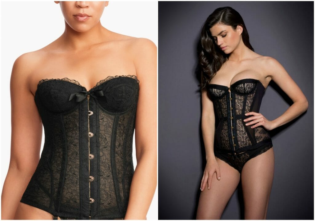 Agent Provocateur and Savage X Fenty corset