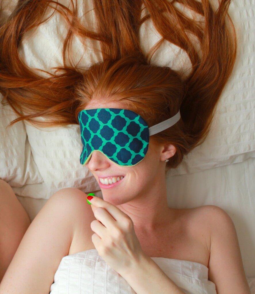Earthen Warrior Cashmere and Cotton Sleep Mask