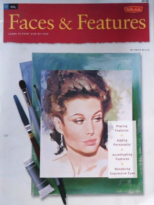How to Draw and Paint Faces & Features by Fritz Willis, published by Walter Foster