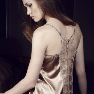 Lingerie Wishlist: Fleur of England Champagne Silk Camisole