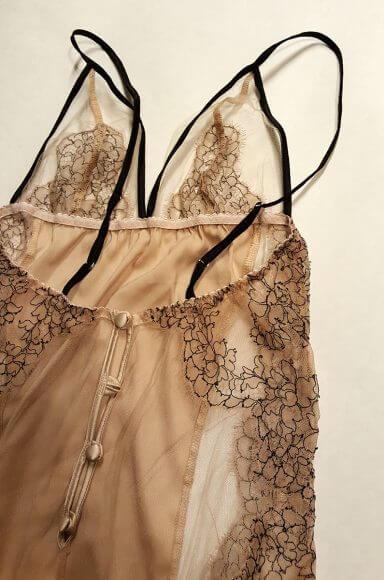 Fleur of England 'Seduction' bodysuit back detail