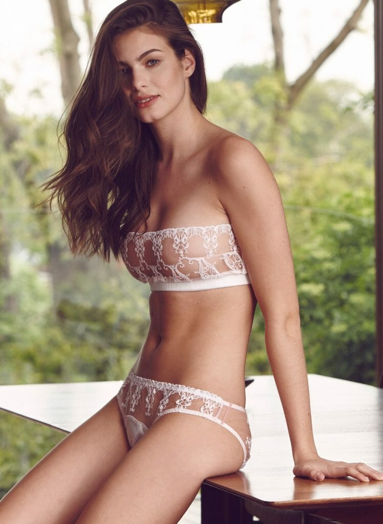 f81b98192 Fleur of England  Colette  Embroidered Strapless Bra and Brief - Lingerie  Embroidery