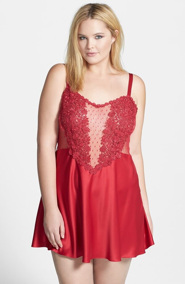 44e8878813d81 Flora NIkrooz Showstopper Chemise. Was  130. Now  87.10.