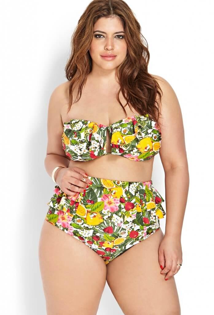 forever 21 fruit bikini
