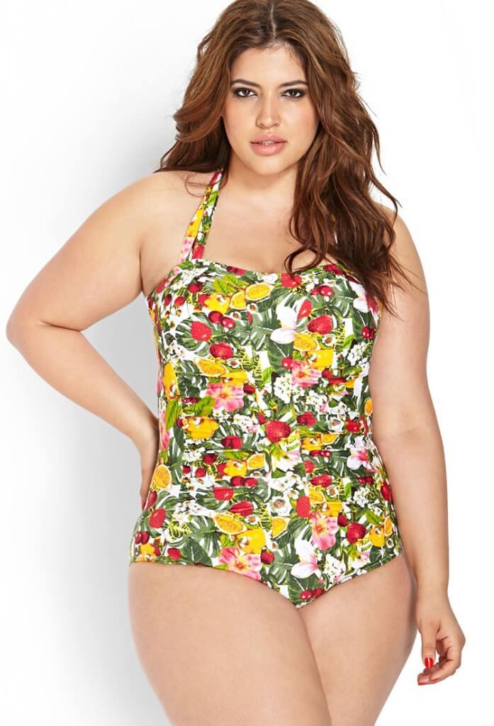 forever 21 fruit swimsuit