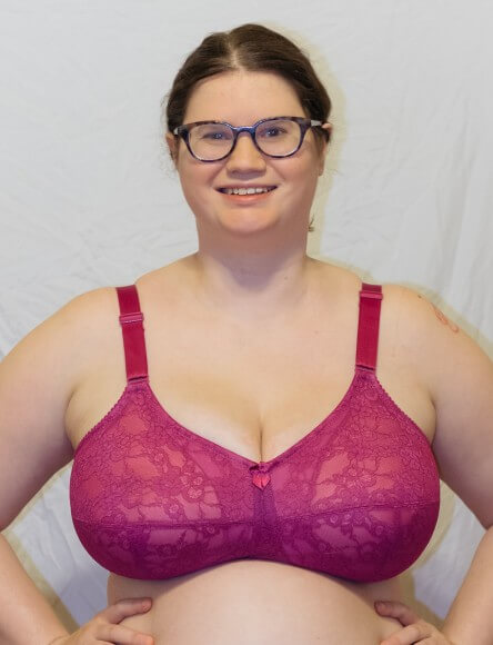 Soft Cup Bra in Fuchsia by Elila