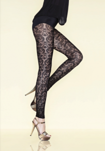 gerbe lyrique lace leggings