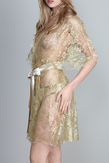 £585 $915.91 USD http://www.gildapearl.co.uk/product/harlow-allover-lace-kimono-champagne/