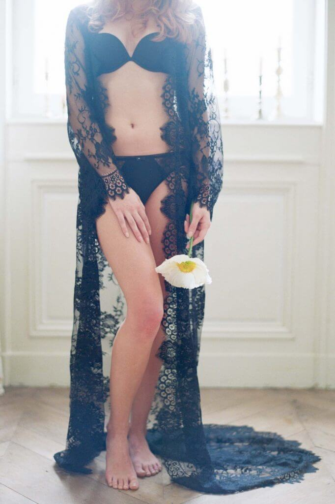 Girl With a Serious Dream Swan Queen Lace Robe - $689.99