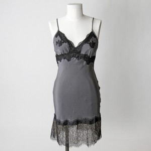 Lingerie of the Week: Gold Hawk Silk & Lace Chemise