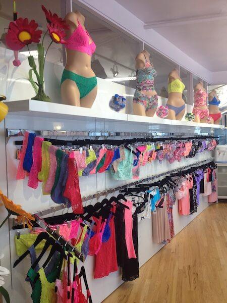 hanky panky showroom