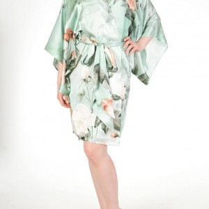 Lingerie Wishlist: Harlow & Fox Anastasia Silk Print Robe