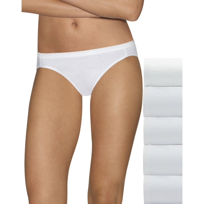 Hanes Ultimate Comfort Cotton Women's Bikini Panties