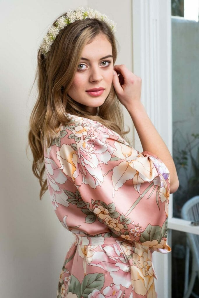 Silk Robe by Ivy & Matilda
