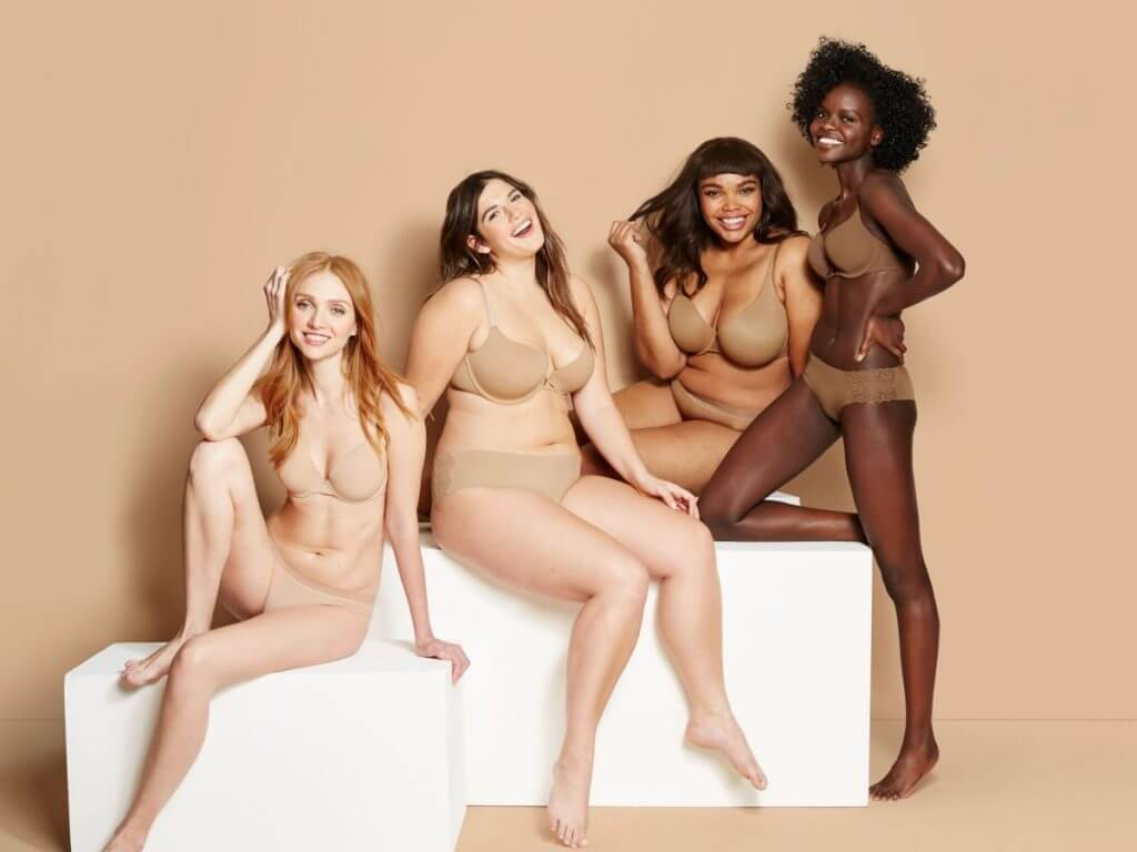 Target. Lingerie Trends - Nude Lingerie for All, WOC. Lingerie for every skintone.