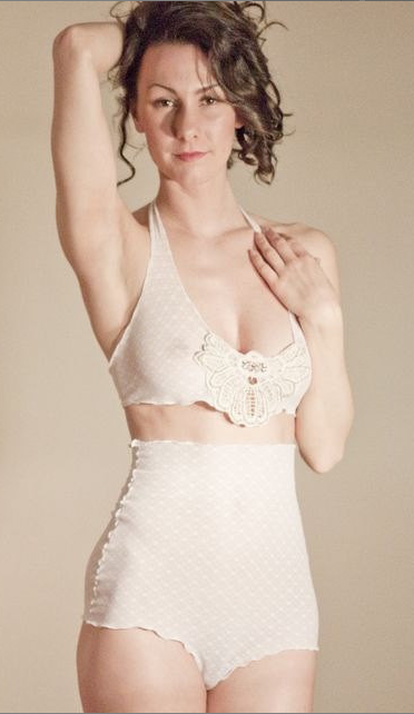 19265d46f2486 Like a lot of new lingerie brands I'm discovering now, I first found out  about Impish Lee through Pinterest. I actually think the dotted lace  bodysuit below ...