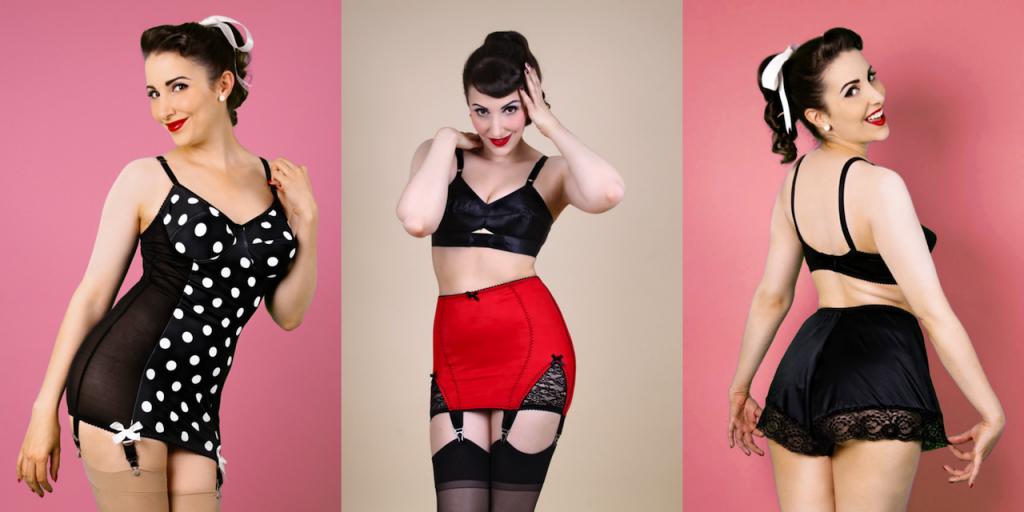 5 choices for plus size pinup shapewear sizes 2x thru 8x