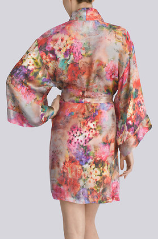 josie natori whimsical wrap back