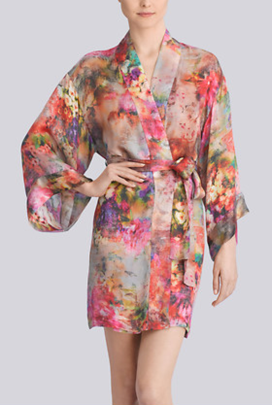Lingerie of the Week: Josie Natori Whimsical Robe