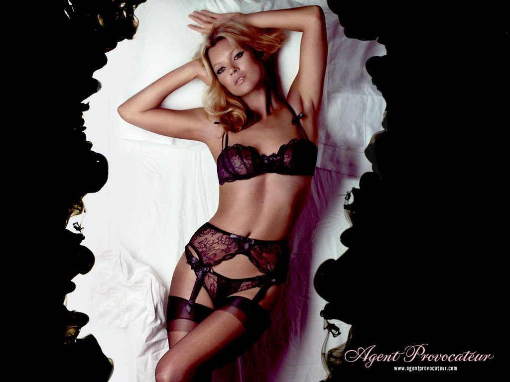 Agent Provocateur 2006 - Kate Moss