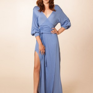 Luxury Lingerie Review: The Kate Maxi Robe by Dear Bowie