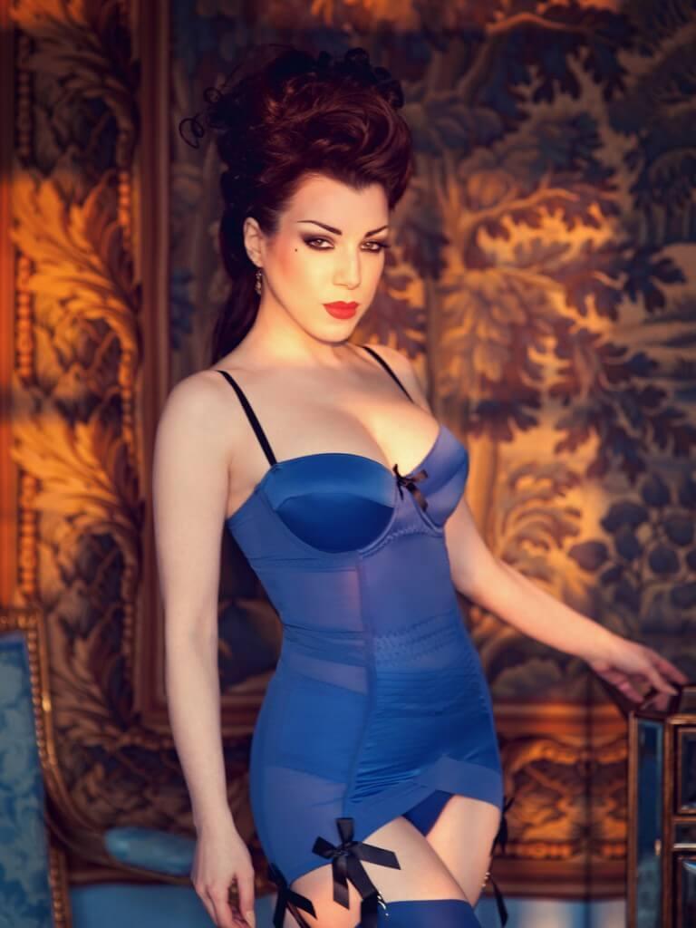 Blue Divine Corselette