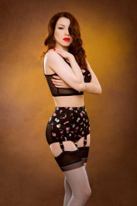 "Kiss Me Deadly ""Candy Box"" Garter Belt (as seen in the video)"