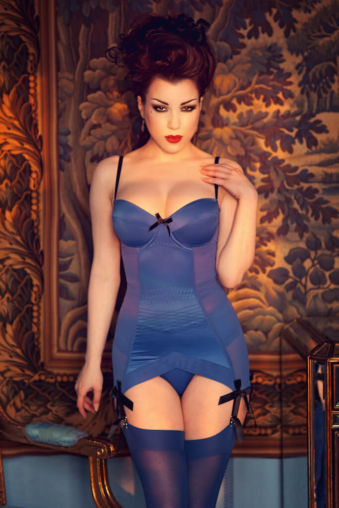 kiss-me-deadly-lingerie-blue-dress-2