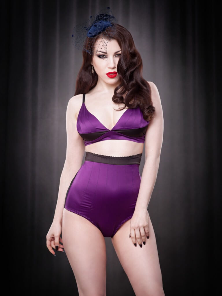 Purple Fifi Bralet