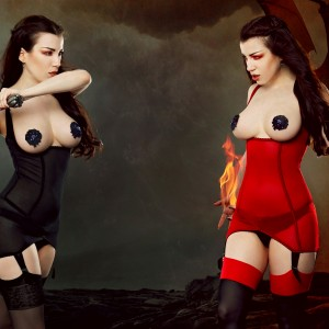 Lingerie of the Week: Kiss Me Deadly Cupless Vargas Dress