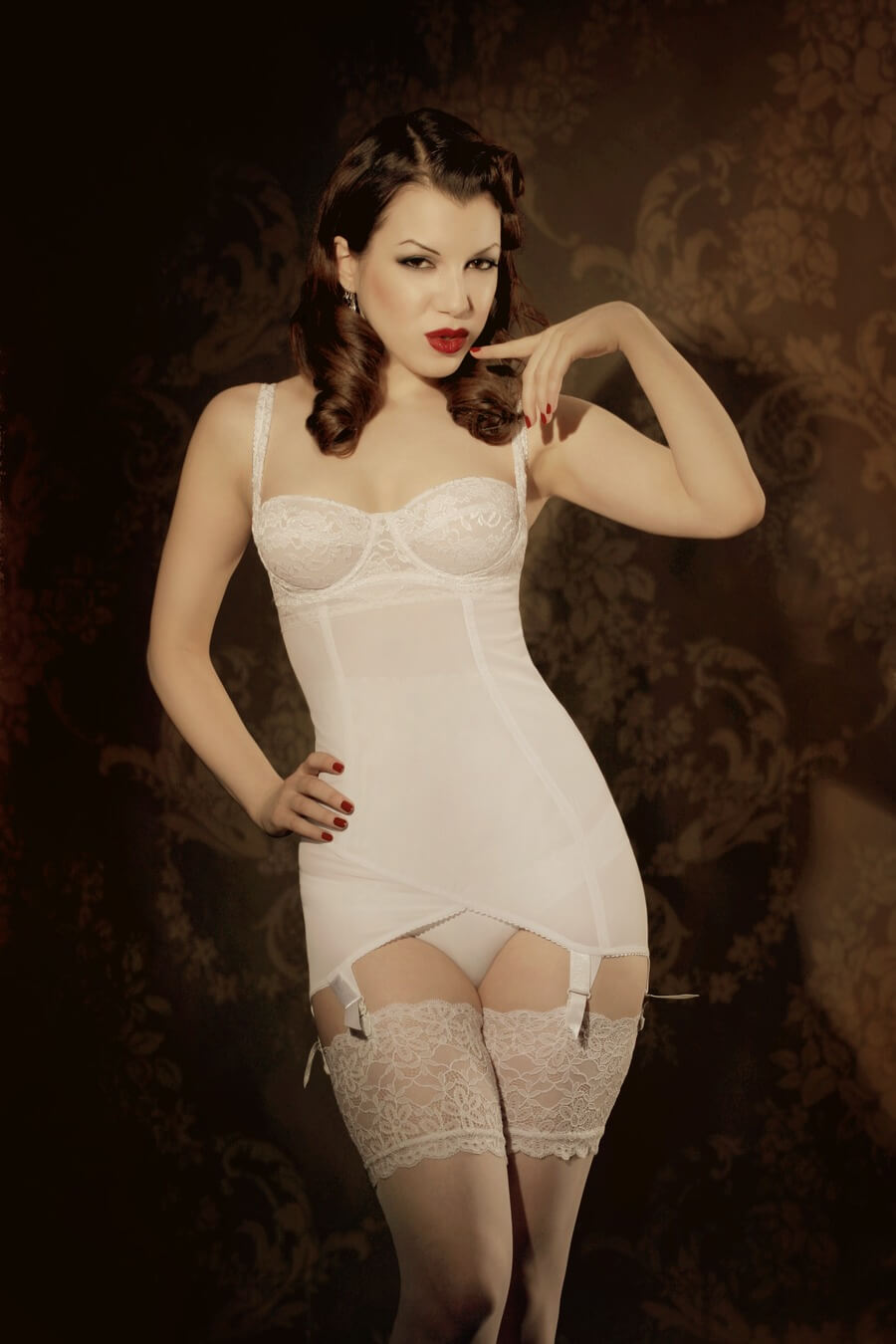 kiss me deadly vargas dress white