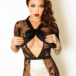 Lingerie Wishlist: Kiss Me Quick 'I Am Trouble' Bodysuit