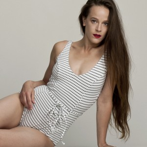 Swimwear of the Week: Klipper Swimsuits White One Piece