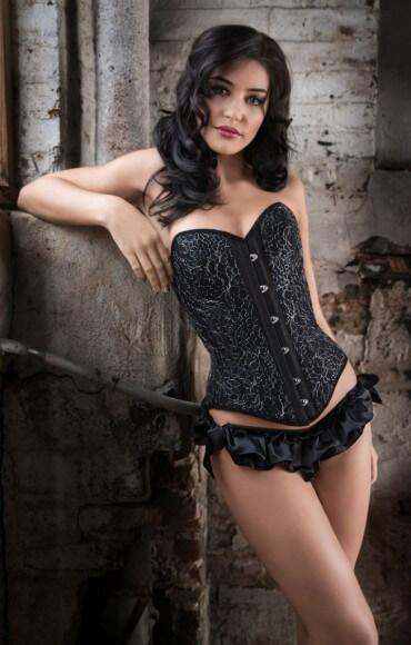 lAngela Friedman Lavinia corset front