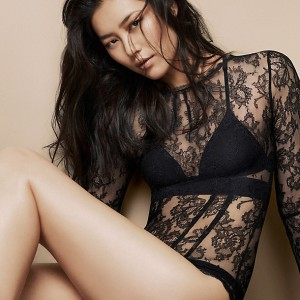 Lingerie Wishlist: La Perla Tea Rose Bodysuit