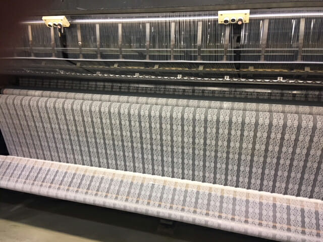 Stretch Lace Knitting Machine